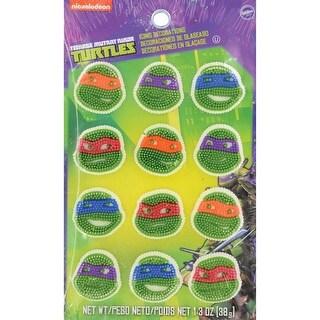Teenage Mutant Ninja Turtles - Royal Icing Decorations 12/Pkg