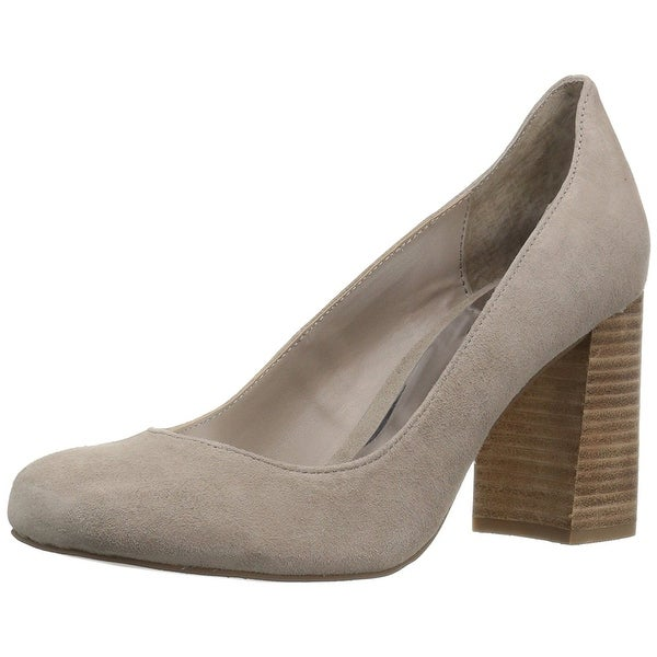 Carlos by Carlos Santana Womens Storm Suede Round Toe Classic Pumps