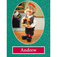 "11.5"" Zims The Elves Themselves Andrew Collectible Christmas Elf Figure - multi"