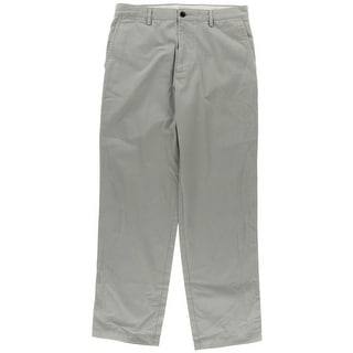 Dockers Mens Classic Fit Flat Front Khaki Pants