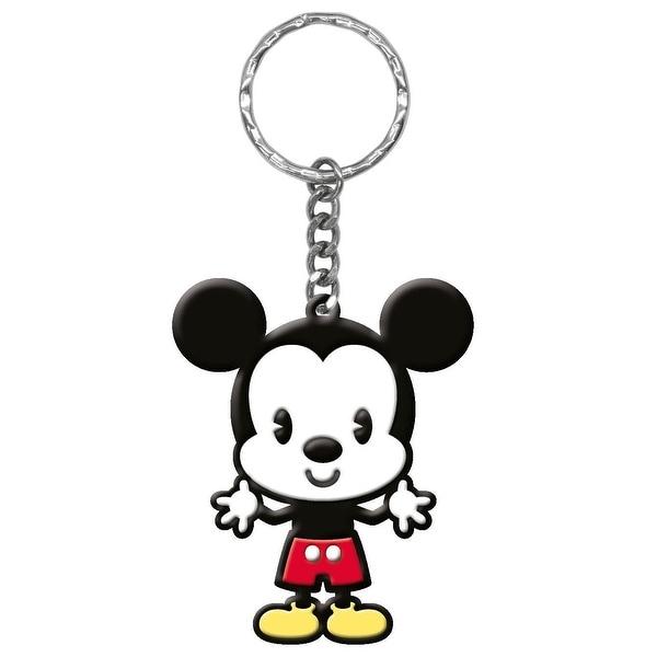 "Disney Cuties Soft Touch PVC Key Ring: ""Mickey"" - Multi"