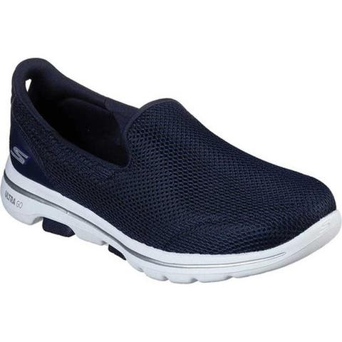 Skechers Women's GOwalk 5 Walking Shoe Navy/White