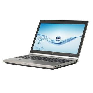 HP EliteBook 8570P Core i7-3740QM 2.7GHz 3rd Gen CPU 16GB RAM 240GB SSD Windows 10 Pro 15.6-inch Laptop (Refurbished)