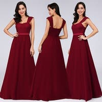 Ever-Pretty Womens Lace Chiffon Evening Prom Party Bridesmaid Dress 07704