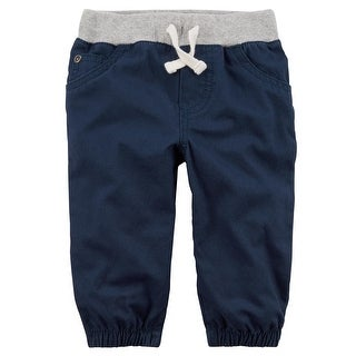 Carter's Baby Boys' Pull-On Canvas Joggers