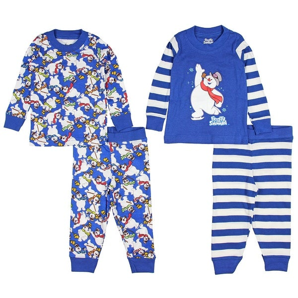 Shop Intimo Baby Infant Frosty the Snowman 4-Piece Pajama Set - On ... a802c325b