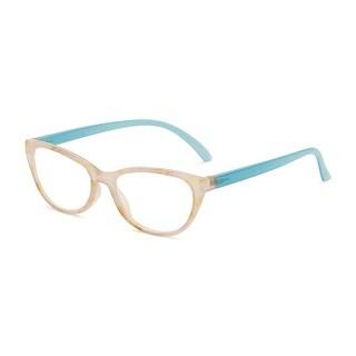 Link to Readers.com The Callie Blue Light Reader Cat Eye Reading Glasses Similar Items in Eyeglasses