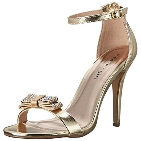 Madden Girl Womens Darlaaa Open Toe Special Occasion Strappy Sandals