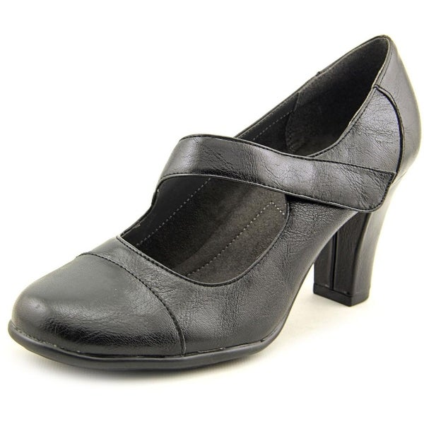 A2 By Aerosoles On a Role Women Round Toe Synthetic Black Mary Janes