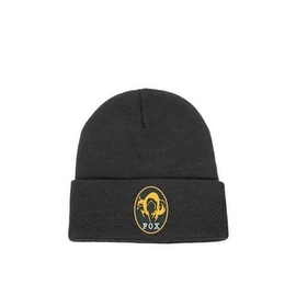 Gaya Novelty Black Metal Gear Solid V FOX Beanie Hat