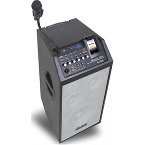 280 Watts Max Portable PA System with iPod Dock