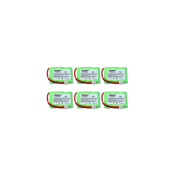 Replacement VTech T2734 / 80-5074 NiMH Cordless Phone Battery - 400mAh / 3.6V (6 Pack)