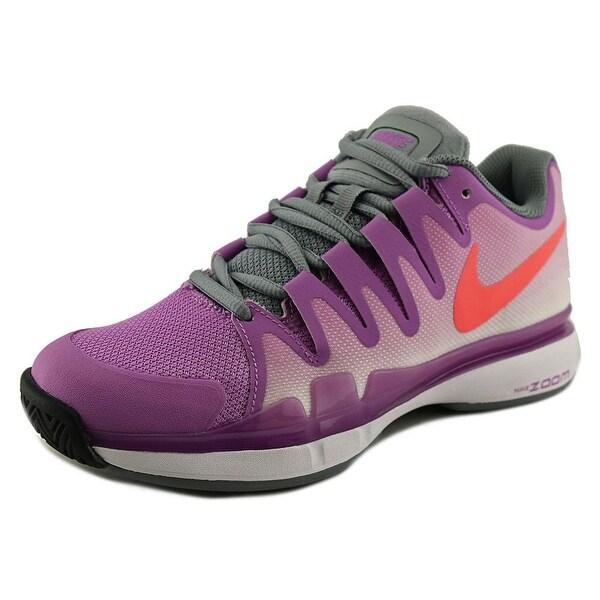 Nike Zoom Vapor 9.5 Tour  Women  Round Toe Synthetic Purple Tennis Shoe