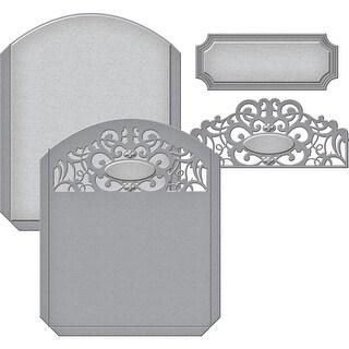 Spellbinders Shapeabilities Dies-Pocket Elegante