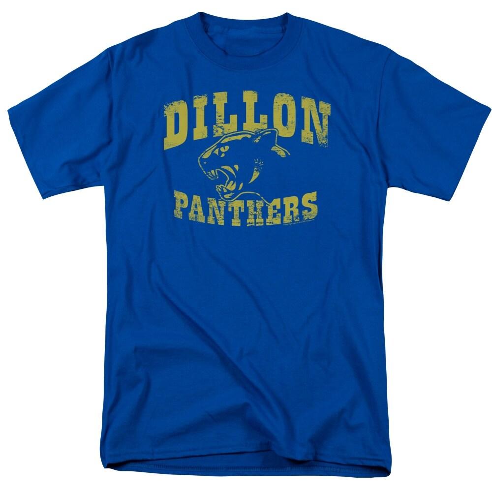 Friday Night Lights Panthers Mens Short Sleeve Shirt