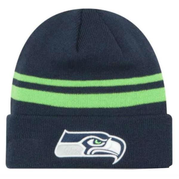 053a3ddb New Era 2019 NFL Seattle Seahawks Cuff Knit Hat Beanie Stocking Winter  Skull Cap