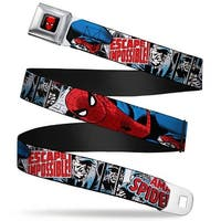 Marvel Comics Spider Man Full Color The Amazing Spider Man Escape Seatbelt Belt