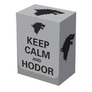 Deck Box Keep Calm and Hodor Legion Supplies