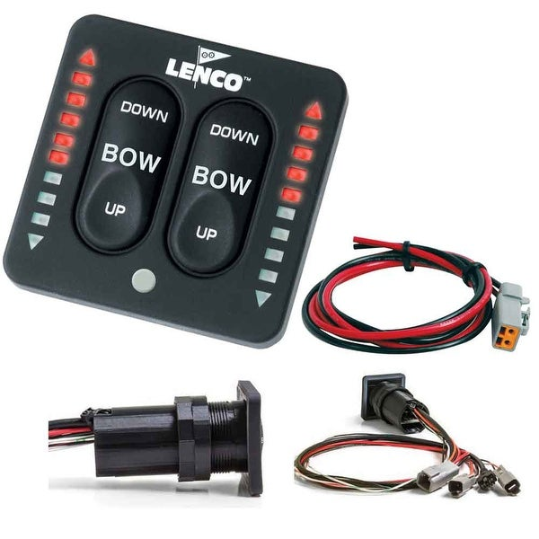 Lenco LED Indicator Integrated Tactile Switch Kit w/Pigtail f/Single  Actuator Systems - 15170-001