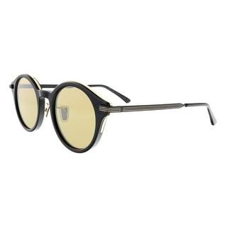 Link to Jimmy Choo NICK/S 02M2 Black/Gold Round Sunglasses - 50-23-150 Similar Items in Designer Handbags
