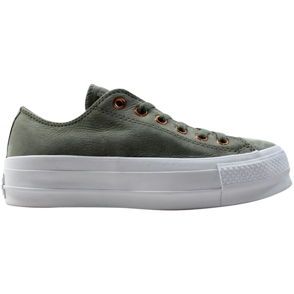 Converse Chuck Taylor All Star Lift ox Dark Stucco/White 561399c Women's. Opens flyout.