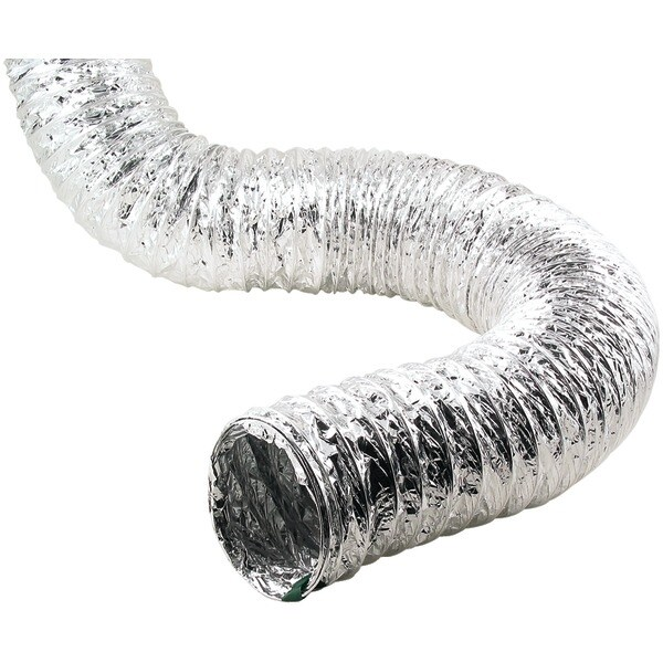 450 / Td450 Aluminum Flex Duct (4 Ply, 50Ft; Pure Proflex)