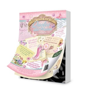 Hunkydory A6 Paper Pad 144/Pkg-The Little Book Of Quotes & Wisdom
