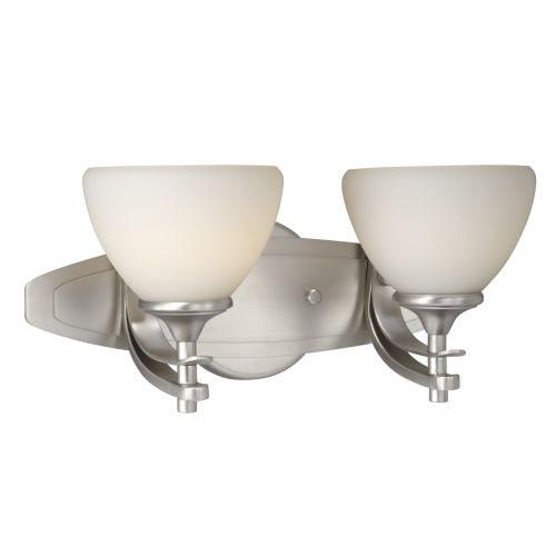 Vaxcel Lighting SE-VLU002 Sebring 2 Light Bathroom Vanity Light - 9 Inches Wide