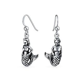 Bling Jewelry Mermaid Dangle Earrings 925 Sterling Silver