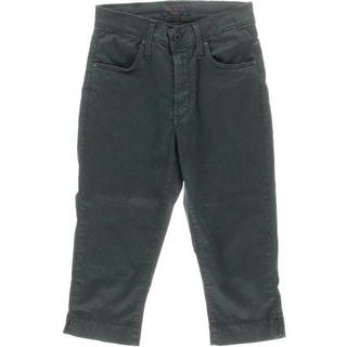 James Jeans Womens High Waist Crop Capri Pants - 24