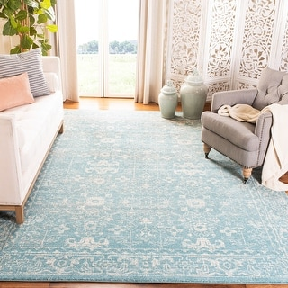 Link to Safavieh Evoke Adele Vintage Oriental Distressed Rug Similar Items in Transitional Rugs