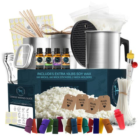 Hearth & Harbor DIY Candle Making Kit For Adults and Kids