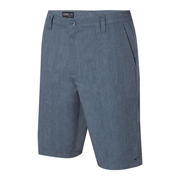 c12b79f94c Shop O'Neill Men's Contact Walkshort Blue Heather - Free Shipping On Orders  Over $45 - Overstock.com - 11143681