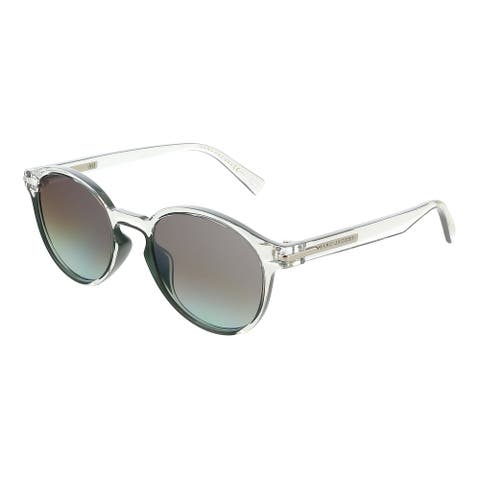 Marc Jacobs MARC224S 00OX Crystal Green Round Sunglasses - 52-20-145