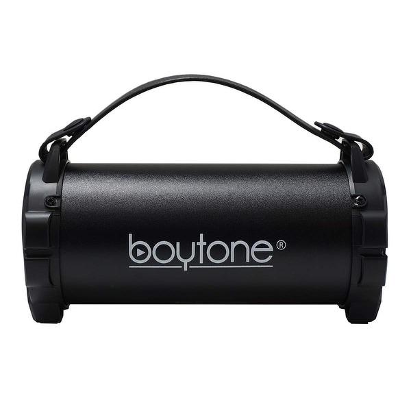 Indoor//Outdoor 2.1 Hi-Fi Cyli Refurb Boytone BT-50BK Portable Bluetooth Speaker