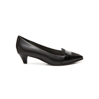 Anne Klein Womens Minka Pointed Toe Classic Pumps Black Size 8.5 vLIN