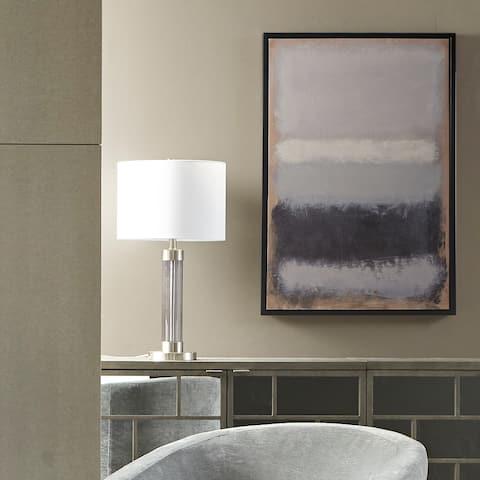 Martha Stewart Stratus Multi Framed Canvas with Gel Coat