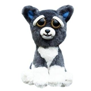"Feisty Pets Sammy Suckerpunch 8.5"" Plush Dog - Multi"