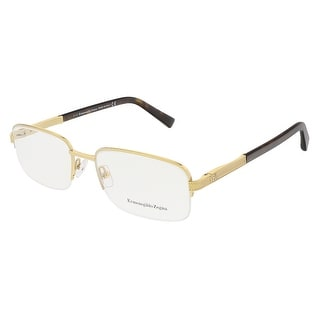 Ermenegildo Zegna EZ5011/V 030 Gold/Dark Havana Rectangular Opticals - 55-19-145