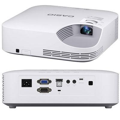 Casio Xj-V2 Lampfree Core Series 3000-Lumen Xga Dlp Projector, White