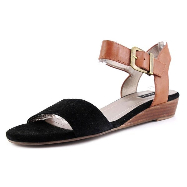 Array Sammy Women Blk/Tan Sandals