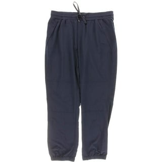 L-RL Lauren Active Womens Woven Pull On Casual Pants - 12