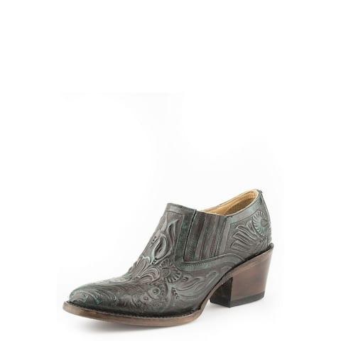 "Stetson Western Boots Womens Cowboy Nina 3"" Brown"