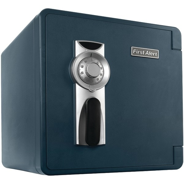 First Alert 2092F-Bd 1.31 Cubic-Ft Waterproof Fire Safe With Combination Lock & Ready-Seal Bolt Down