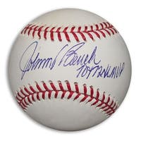 Johnny Bench Autographed Official MLB Baseball Inscribed 70  72 NL MVP