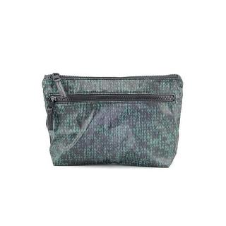 Shiraleah Colorado Women Nylon Cosmetic Bag NWT - Green
