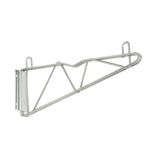 "Offex Single Shelf 2 Wall Mount Brackets + 2 - 18"" Cantilever Arm"