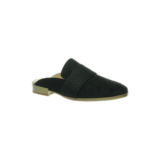 Free People Womens At Ease Black Mules EUR 35