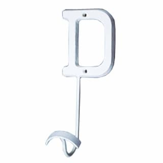 Letter Hook D Wrought Iron White Decorative Renovator's Supply