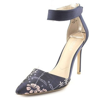 Charles By Charles David Pointer Women Pointed Toe Canvas Slingback Heel